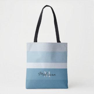Moderne Schatten des aquamarinen Tasche