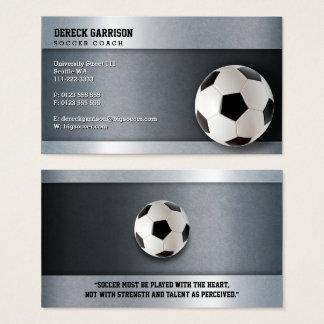 Moderne Sport-Geschenke des Fußball-Zug-| Visitenkarte