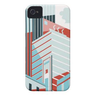 Moderne Stadt iPhone 4 Hüllen