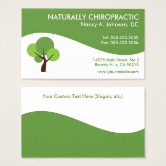 Moderne Strudel-Chiropraktik-Visitenkarten Visitenkarte