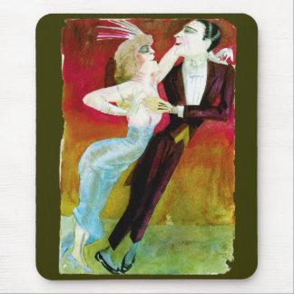 Moderne Tanzen-Paare durch Otto Dix Mousepad