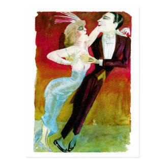 Moderne Tanzen-Paare durch Otto Dix Postkarten