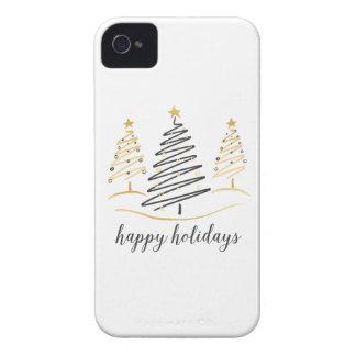 Moderne Trend-Feiertags-Bäume iPhone 4 Hüllen