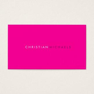 Moderne und minimale Visitenkarte