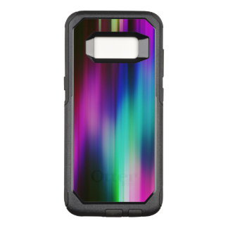 Moderne vibrierende Farbe Rays Muster OtterBox Commuter Samsung Galaxy S8 Hülle