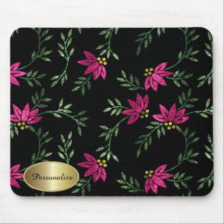 Moderne viktorianische Blumen| personifizieren Mousepad