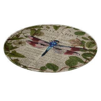 moderne Vintage Libelle des französischen Schneidebrett