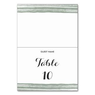 Moderne Watercolor-Hochzeits-Tabellen-Platzkarte Karte