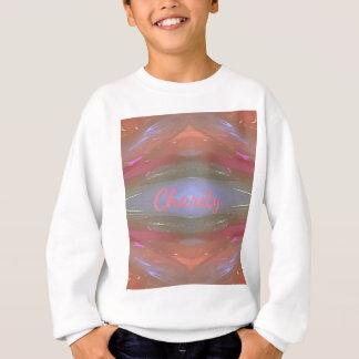 Moderne weiche Wohltätigkeit-künstlerisches Muster Sweatshirt