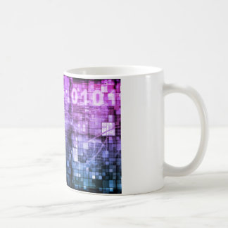 Moderne Wissenschafts-Forschungs-und Kaffeetasse