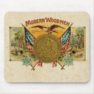 Moderne Woodmen von Amerika Mousepads