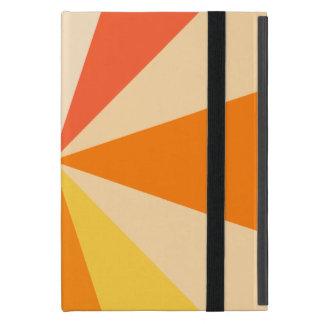 Moderner 60er der Pop-Kunst Funky geometrische Schutzhülle Fürs iPad Mini