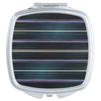 Moderner Abtract linearer Entwurf Taschenspiegel