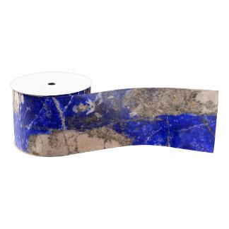Moderner blauer Stein Ripsband
