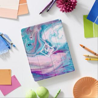 Moderner bunter abstrakter MarmorWirbel GR3 iPad Hülle