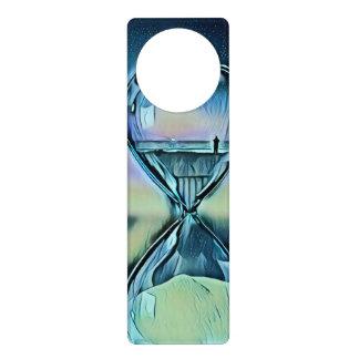Moderner bunter Hourglass Türanhänger