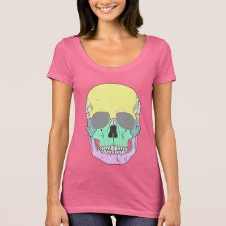 MODERNER BUNTER SCHÄDEL T-Shirt