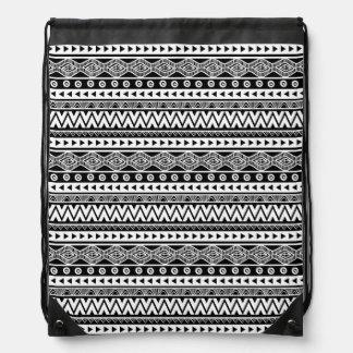 Moderner cooler aztekischer Stammes- Sportbeutel