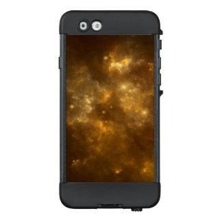 Moderner cooler schöner Goldnebelfleck, -sterne u. LifeProof NÜÜD iPhone 6 Hülle