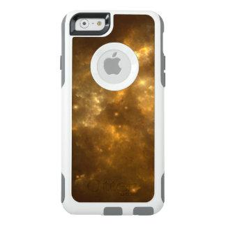 Moderner cooler schöner Goldnebelfleck, -sterne u. OtterBox iPhone 6/6s Hülle