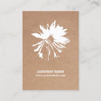 Modern Elegant Kraft Paper Floral Event Planner