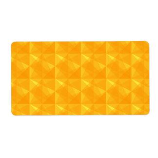 Moderner geometrischer Musteraufkleber