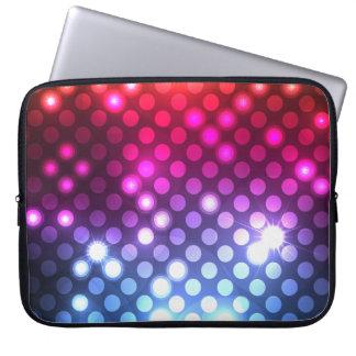 "Moderner Girly Glitter beleuchtet Laptop-Hülse 15"" Laptopschutzhülle"