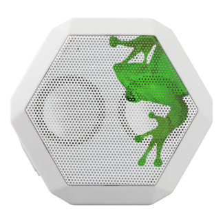 Moderner grüner Frosch Boombot Rex Bluetooth Weiße Bluetooth Lautsprecher