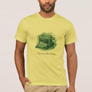 Moderner Hintern-Anruf T-Shirt