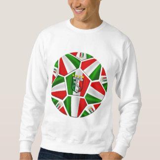 Moderner italienischer Fußball täfelt Sweatshirt