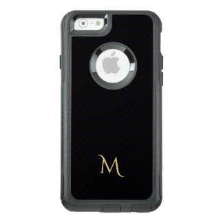 Moderner Karo-Muster-Monogramm OtterBox iPhone OtterBox iPhone 6/6s Hülle