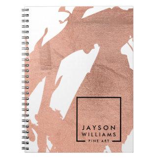 Moderner Künstler-abstrakte Notizbuch