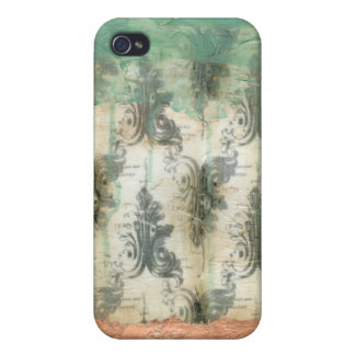 Moderner Lilien-Entwurf Hülle Fürs iPhone 4