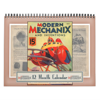 Moderner Mechanix u. Erfindungs-Kalender Abreißkalender