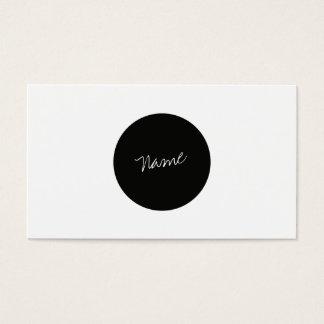 Moderner Minimalist Visitenkarte