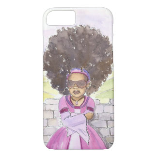 Moderner Rapunzel Afro iPhone 7 Fall iPhone 8/7 Hülle