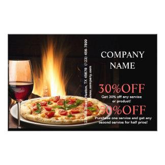 Moderner Restaurant-Catering Flyer