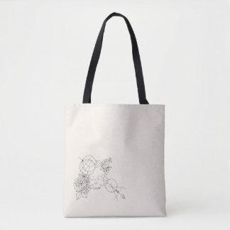 Moderner Schädel Tasche