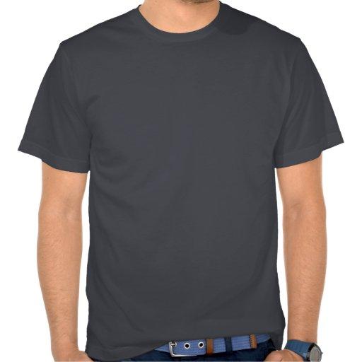 Moderner schicker Yin-Yang Sunbeam-Blumenbaum T Shirt