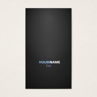 Moderner Schriftart in zwei Farben mit 2 Visitenkarte