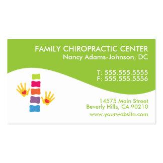 Moderner Strudel-bunte Chiropraktik-Visitenkarten Visitenkarten