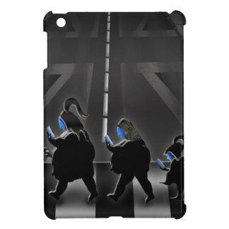 moderner Tagesmürrische Straße iPad Mini Hülle