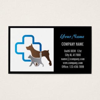 Moderner Tierhaustierservice-Schönheitssalon Visitenkarte