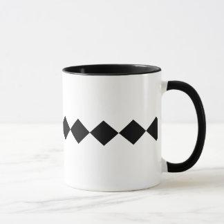 Moderner u. zeitgenössischer Single-schwarzer Tasse