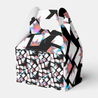 moderner und abstrakter Hintergrund Geschenkschachtel