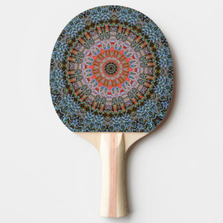 moderner und abstrakter Hintergrund Tischtennis Schläger