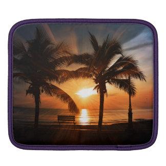 Moderner und modischer Sonnenuntergang iPad Sleeve