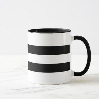 Moderner und zeitgenössischer doppelter schwarzer tasse