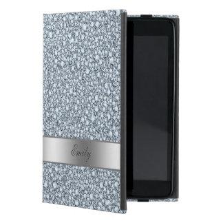 Moderner verkrusteter Diamant-Glitter-Rüttler Etui Fürs iPad Mini
