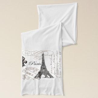moderner Vintager Eiffel-Turm Schal